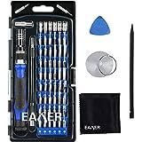 Eaxer 63 in 1 Schraubendreher Set mit 56 Bits Magnetische Schraubendrehersatz Werkzeugset, für Handy, Tablet, PC, Laptop, Macbooks und andere Elektronik