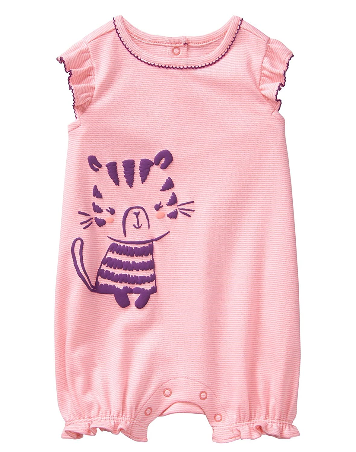 Gymboree Baby Girl Short Sleeve One-Piece Romper
