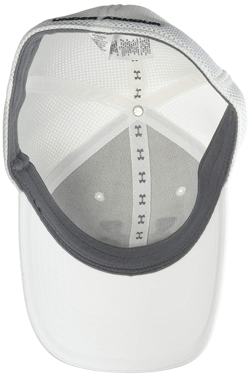 4a2cf12b4e9 Amazon.com  Under Armour Men s Microthread Golf Mesh Cap  Sports   Outdoors