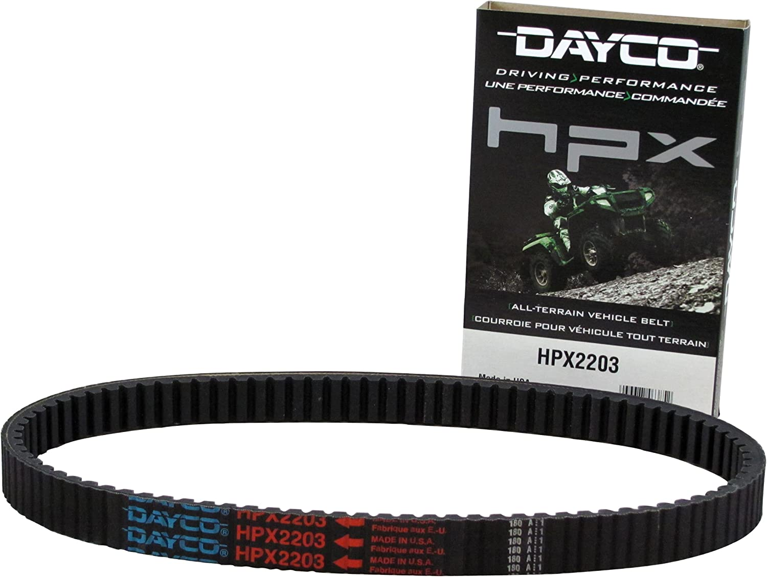 HPX High-Performance Extreme ATV Belt For 2013 Polaris Sportsman 500 HO~Dayco