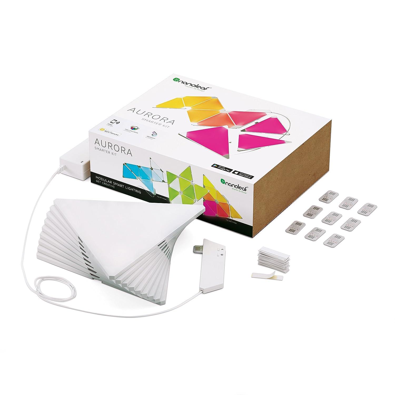 sc 1 st  Amazon.com & Nanoleaf NL22-0003TW-9PK Aurora Smarter Kit - - Amazon.com azcodes.com