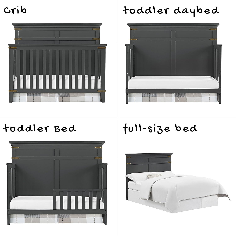 Amazoncom Baby Relax Kellee 4 In 1 Convertible Crib, Slate Gray Baby