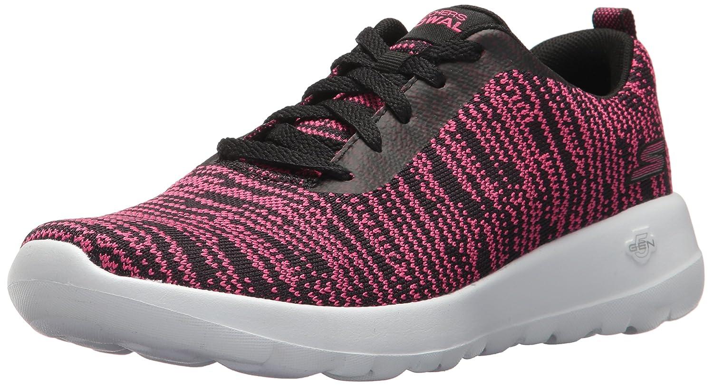 Skechers Go Walk Joy-Rapture, Zapatillas para Mujer 36.5 EU Negro (Black/Hot Pink)