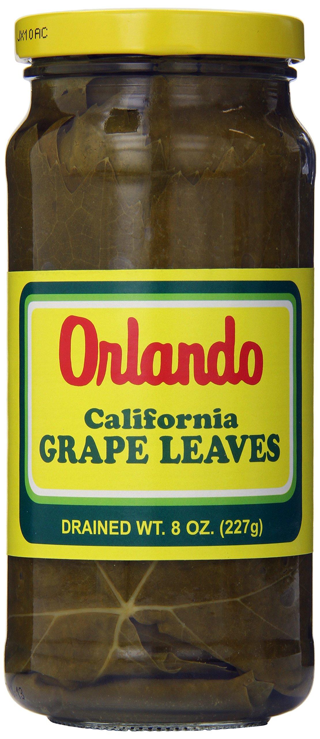 Orlando California Grape Leaves, Pint, (Pack of 12)