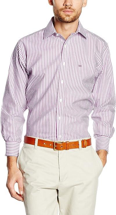 Pedro del Hierro Camisa Hombre Violeta XL: Amazon.es: Ropa y accesorios