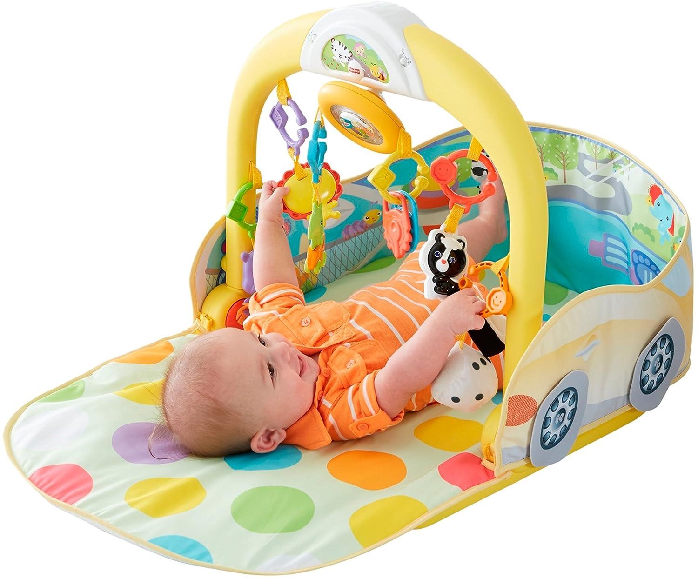 Infant - Coche 3 en 1 para Gimnasio Fisher-Price (Mattel DFP07): Amazon.es: Juguetes y juegos