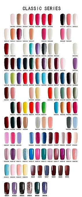 Wunderbar Wählen Sie eine beliebige 5 Shellac Farben Beste-Bluesky tränken  XQ49