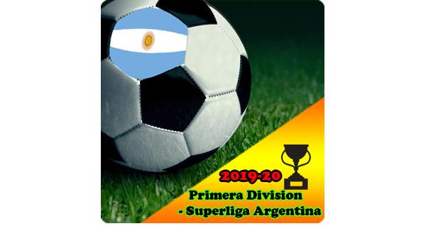 Primera Division Superliga Argentina Live Score