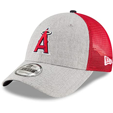New Era MLB Turn Trucker 9FORTY Adjustable Snapback (Los Angeles Angels) 932b851f1944