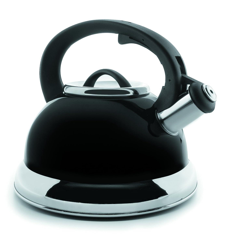Lacor 68644- Bollitore con fischio, 2,5 l, colore nero Lacor_68644