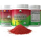 Organic Reds Superfood Powder. Best Tasting Organic Red Juice Super Food with 25+ All Natural Ingredients and…