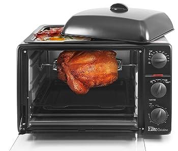 Elite Cuisine Elite Gourmet ERO-2008S ETO Rotisserie Oven