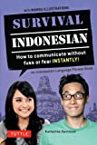 Survival Indonesian: An Indonesian Language Phrasebook: How to Communicate Without Fuss or Fear Instantly!