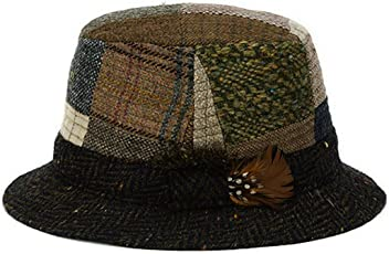 81afaf84b1279 Hanna Hats Men s Donegal Tweed Original Irish Walking Hat