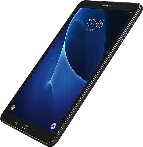 Schutzglas mit Auto Sleep//Wake H/ülle Gr/ün Lobwerk 2in1 Set f/ür Samsung Galaxy Tab A 10.1 Zoll SM-T580 T585 Tablet mit Schutzh/ülle Wei/ß