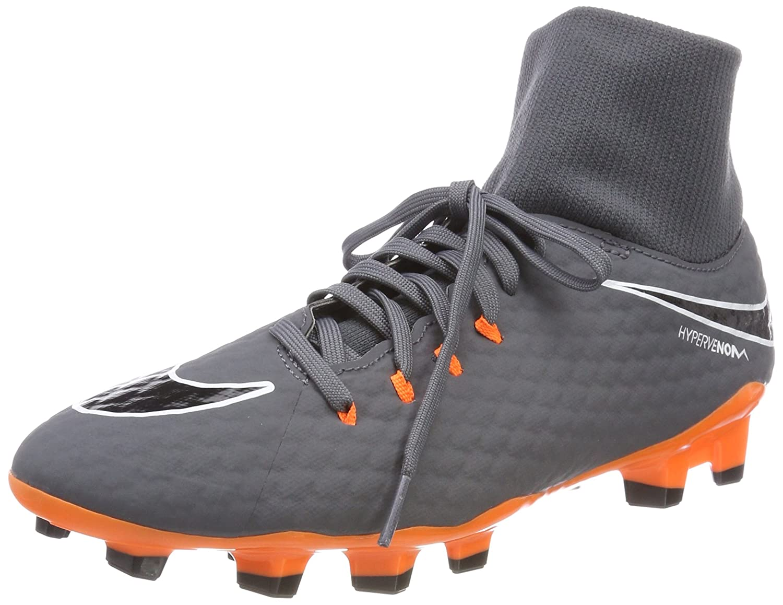 pretty nice ac809 44e8e Nike Men s Phantom 3 Academy Df Fg Football Boots, (Dark Grey White Total  Orange 081), 11 (46 EU)  Amazon.co.uk  Shoes   Bags