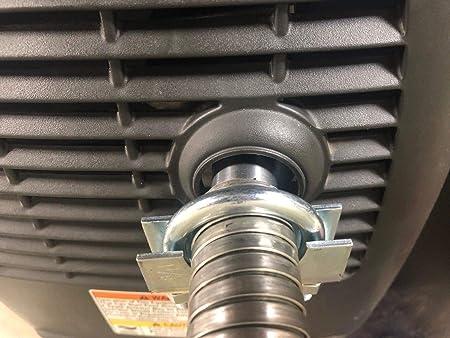 "Honda EU2200i Generator 1/"" steel exhaust extension 8 foot"