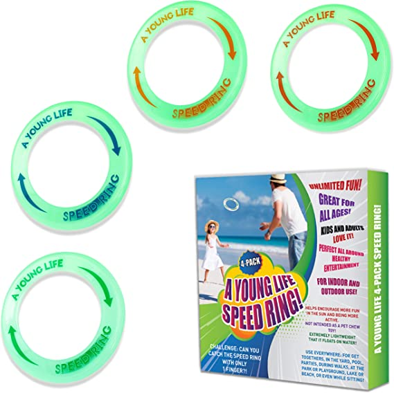 Yofit 10 Flying Ring with Assorted Colors Set of 5