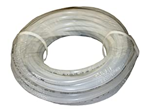 "ATP Value-Tube LDPE Plastic Tubing, Natural, 15/64"" ID x 5/16"" OD, 100 feet Length"