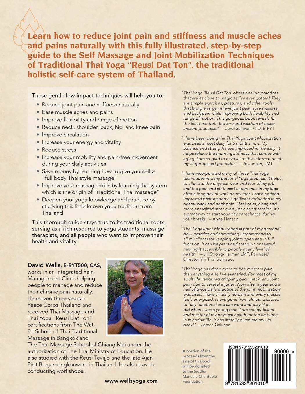 Self Massage and Joint Mobilization of Traditional Thai Yoga ...