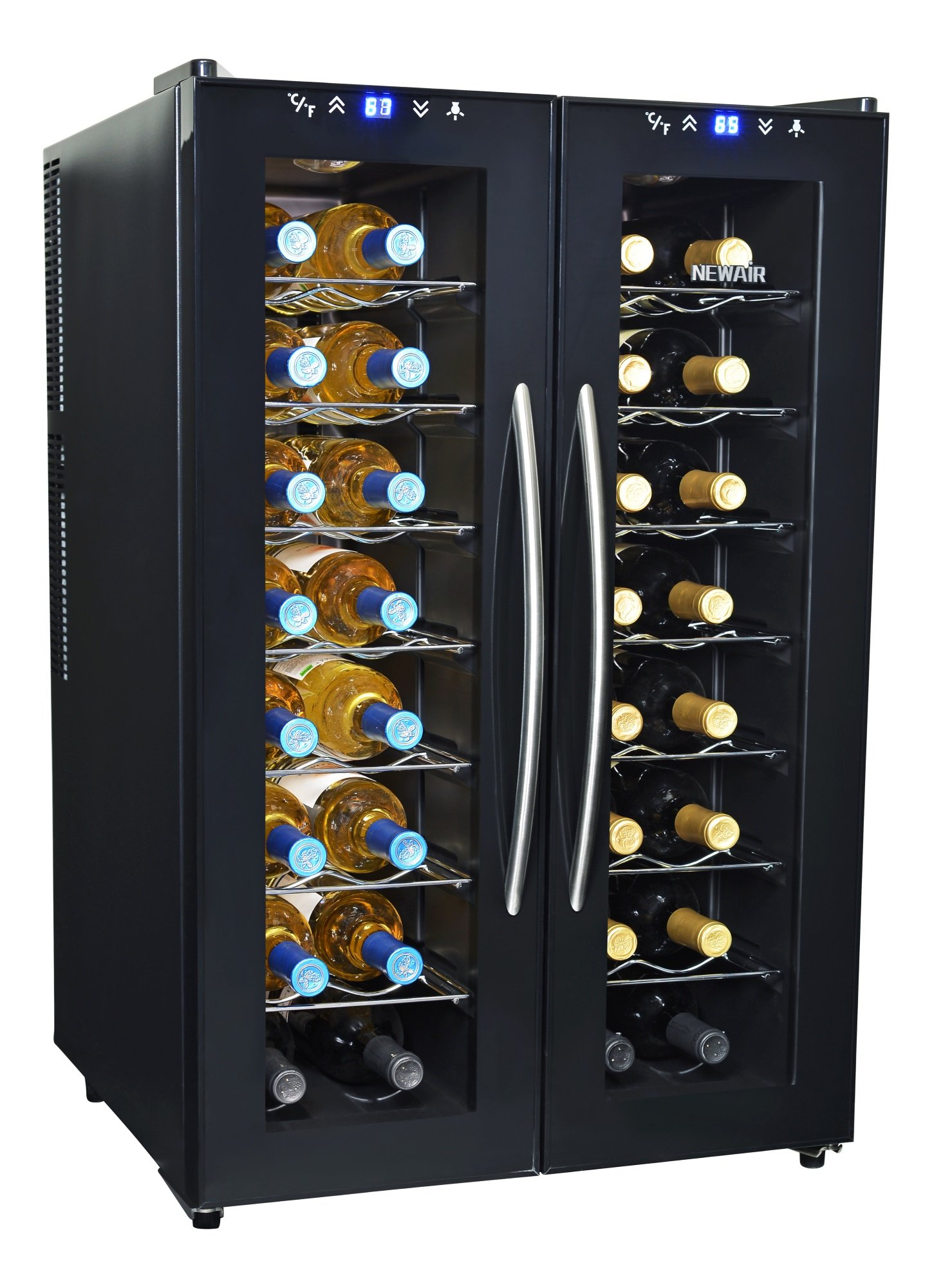 NewAir AW-320ED 32-Bottle Dual Zone Thermoelectric Wine Cooler by NewAir (Image #3)