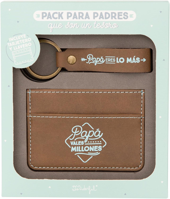 Mr Wonderful WOA03836ES Pack para padres que son un tesoro: Amazon.es: Equipaje