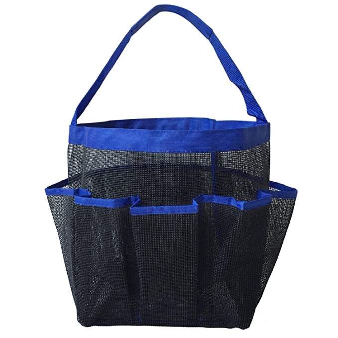 Acerich Portable Mesh Shower Caddy Tote, Quick Dry Oxford Hanging ...
