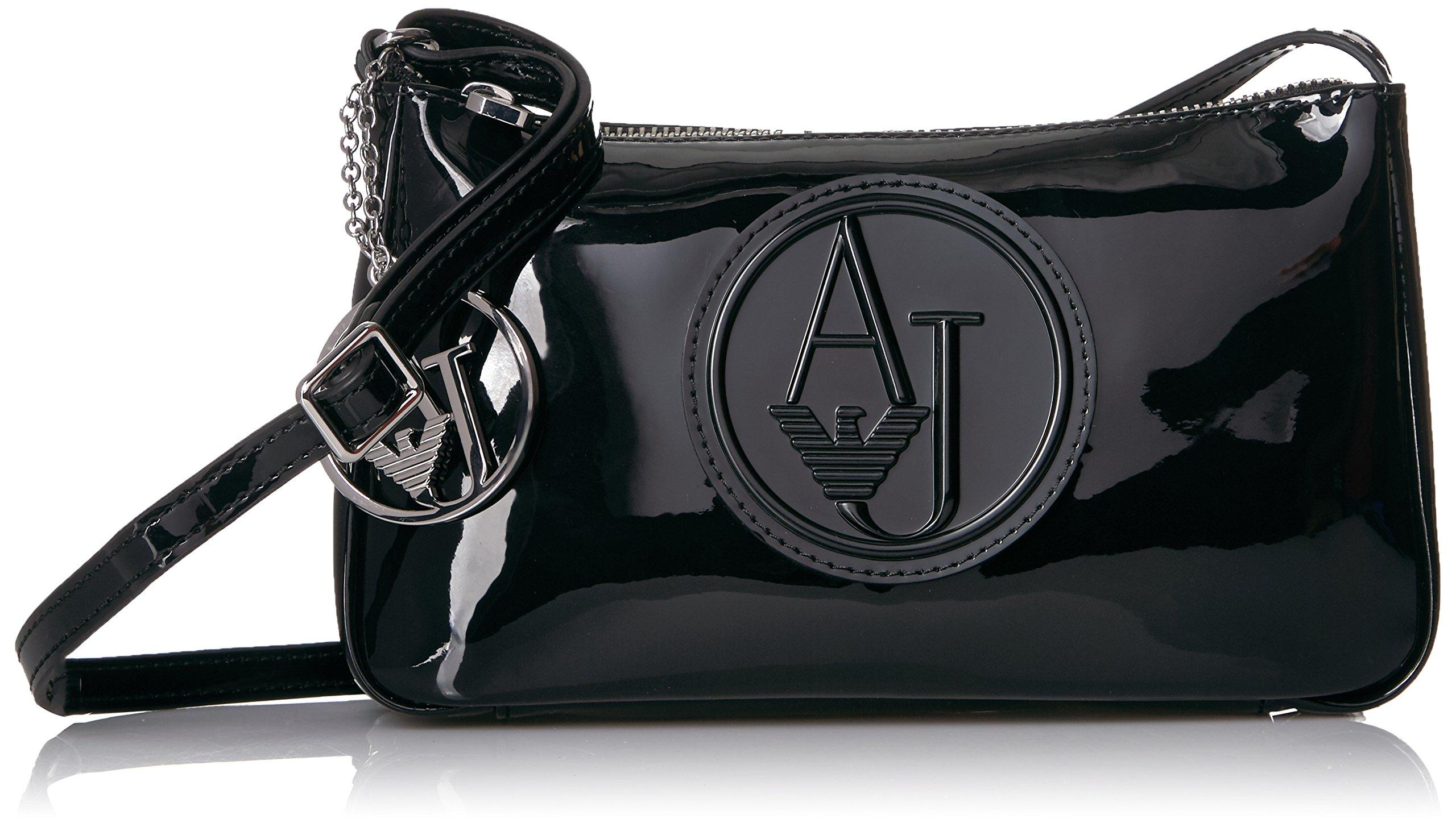 Armani Jeans Patent Sling Bag