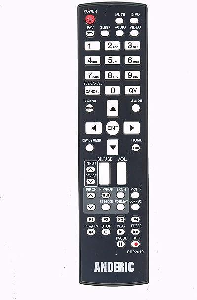 New Original Mitsubishi WS48313 WS48315 WS48413 WS48511 TV Remote Control