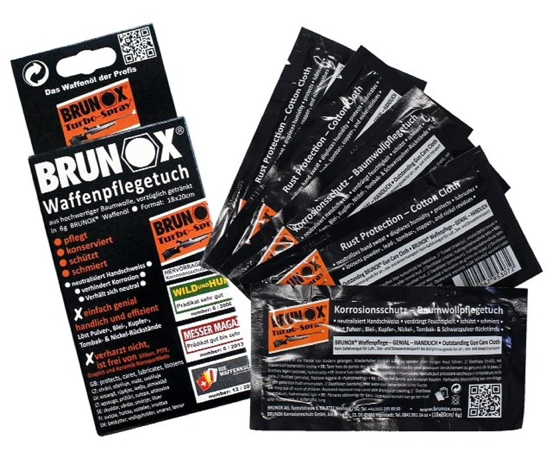 Brunox en6500. Pack toallitas de Aceite Especial Armes Turbo-Spray: Amazon.es: Deportes y aire libre