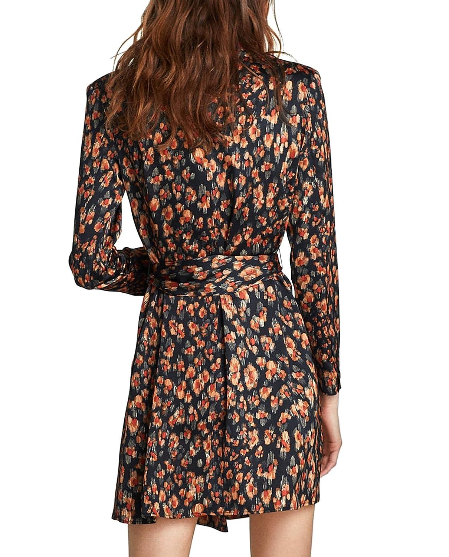 Zara Women Printed Blazer-Style Dress 2166/106 at Amazon Womens Clothing store: