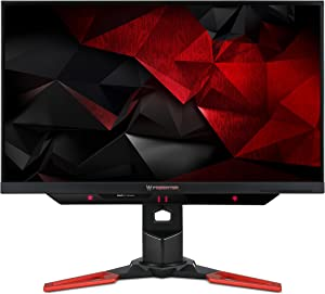 "Acer Predator Gaming Monitor with Tobii 27"" XB271HU Tbmiprz 2560 x 1440 144Hz Refresh Rate NVIDIA G-SYNC Technology (Display Port & HDMI Port)"