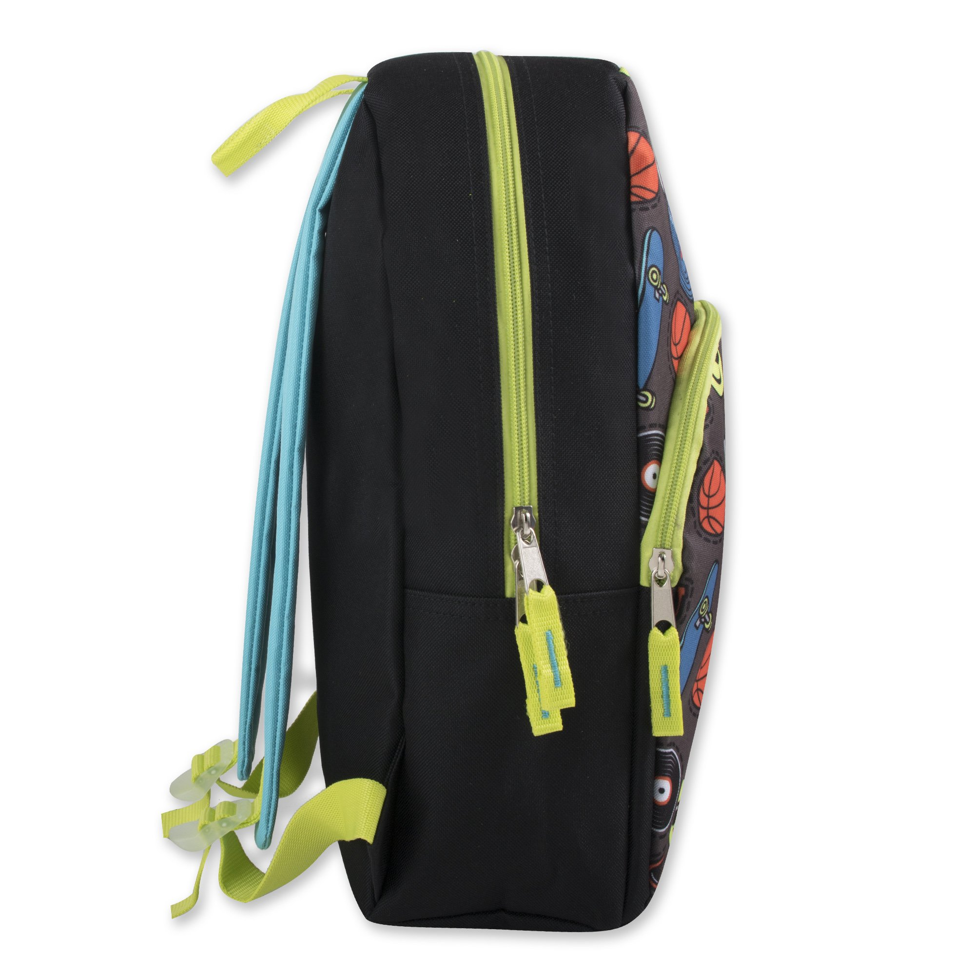 Trail maker Character Backpack (15'') with Fun Fashionable Design for Boys & Girls (Emoji Boy) by Trail maker (Image #3)
