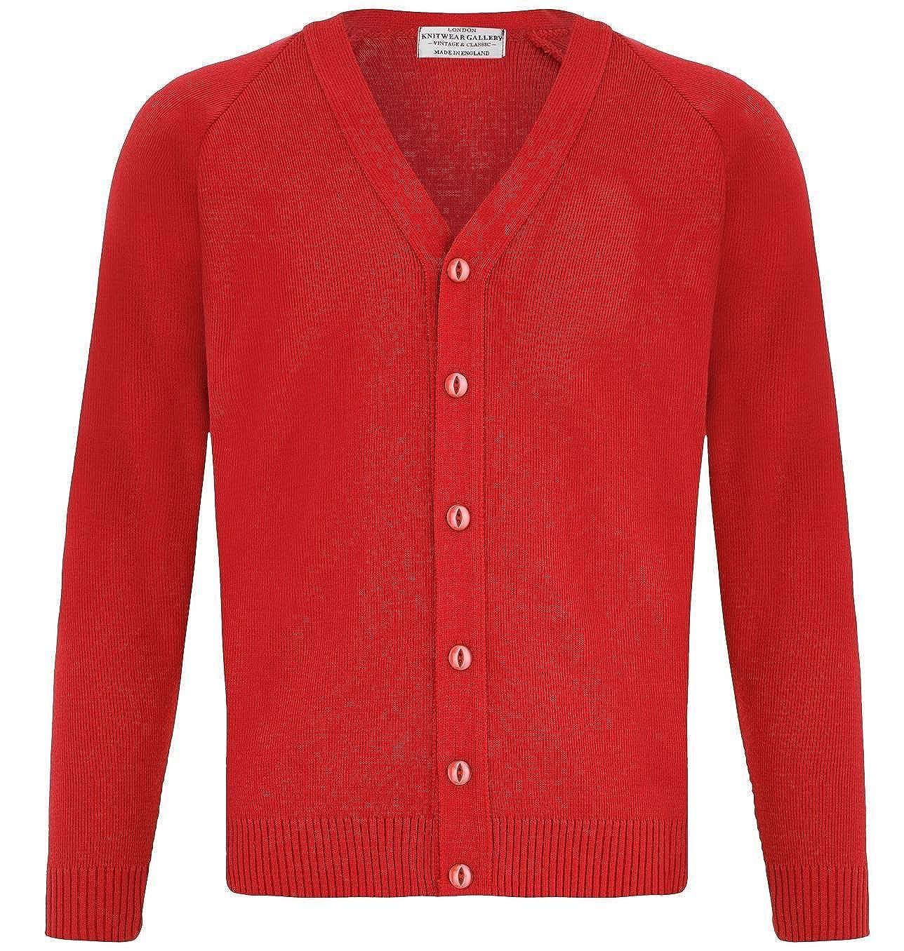 London Knitwear Gallery Mens Knitwear Casual Button Cardigan Vintage
