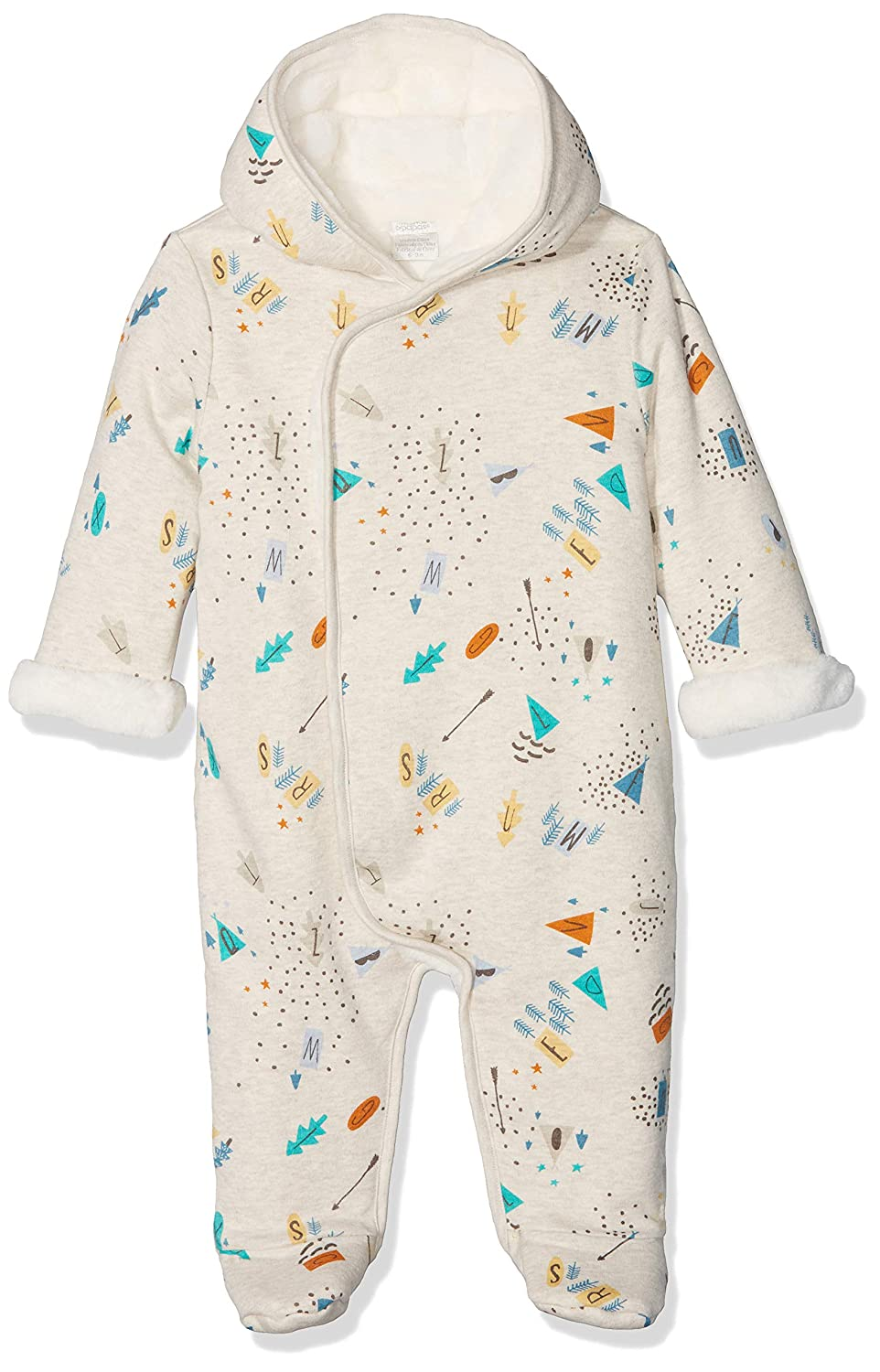 Mamas & Papas Baby Boys' Arrow Print Pramsuit Snowsuit Mamas and Papas