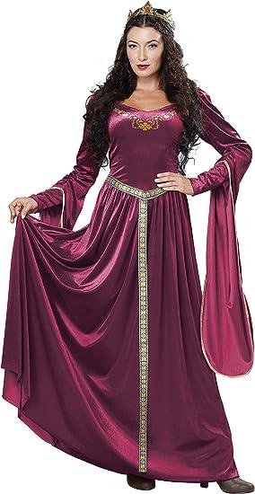 California Costumes Disfraz Vestido Princesa Medieval Mujer S ...