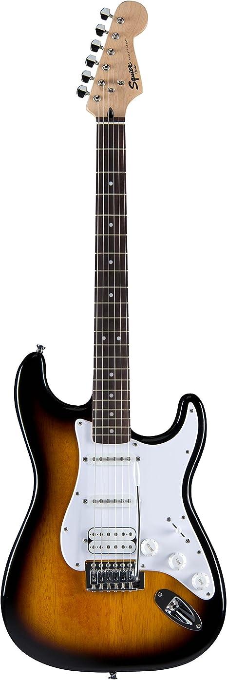 Fender Squier Bullet Strat with Tremolo HSS BS Guitarra ElŽctrica: Amazon.es: Instrumentos musicales