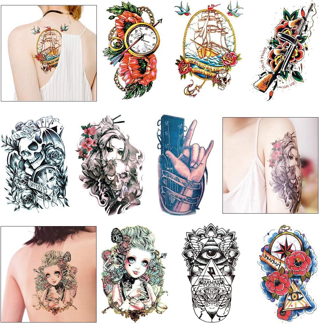 Tatuajes Temporales Para Adultos Mujer Hombre - Fake Tattoo ...