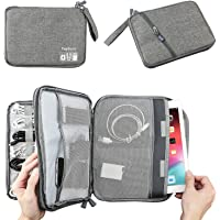 Double Layer Electronic Accessories Organizer, Travel Gadget Bag for Cables, USB Flash Drive, Plug and More, Perfect…
