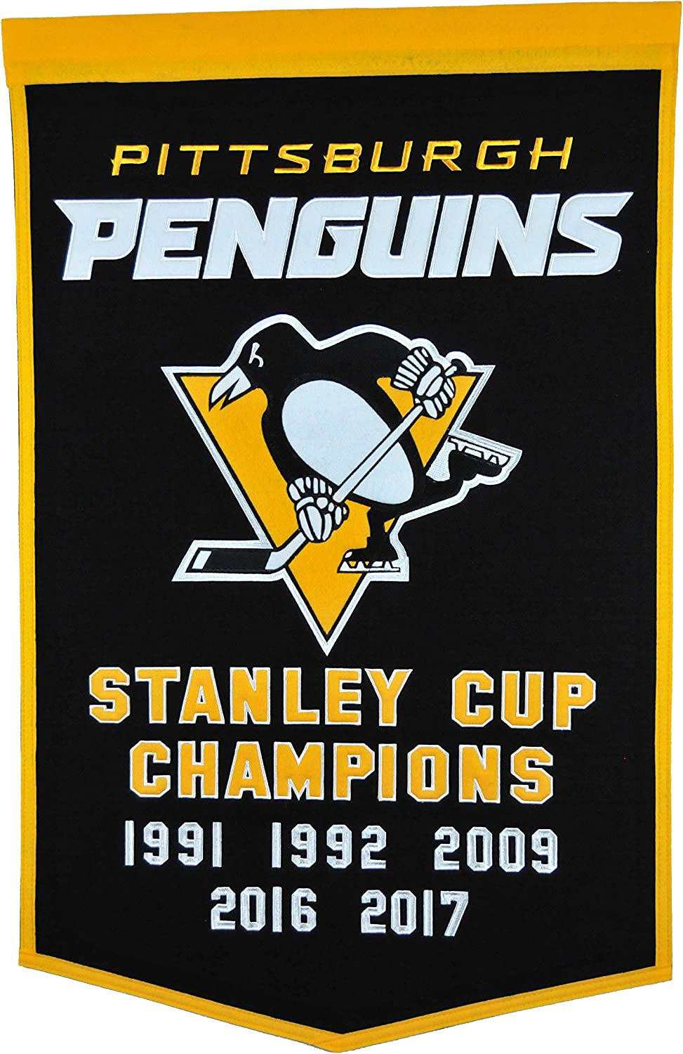 Winning Streak NHL Pittsburgh Penguins Dynasty Banner