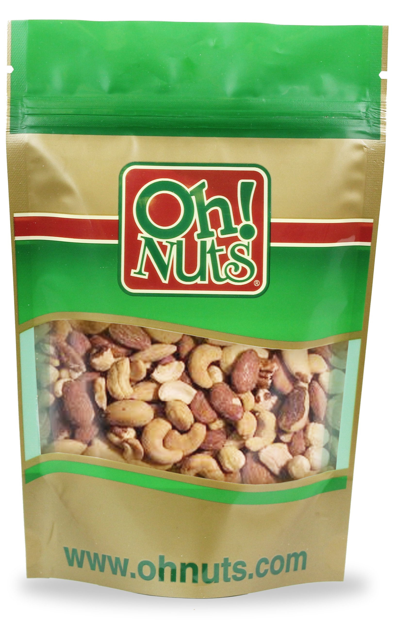 Mixed Nuts Roasted Salted (5 Pound Bag) - Oh! Nuts