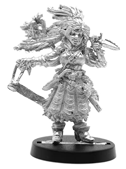 Amazon com: Stonehaven Female Half-Elf Witch Miniature