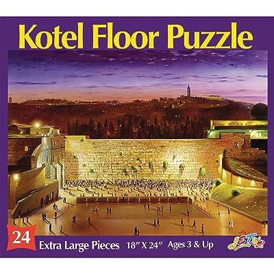 Jet Kotel Floor Puzzle: Toys & Games