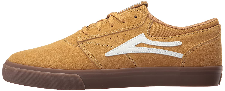 Lakai Griffin Skate Shoe B01N33E4JX 10.5 M US|Gold Suede