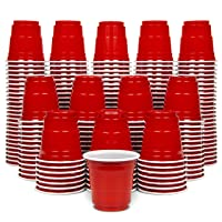GoPong 2oz Plastic Shot Cups | Pack of 200 | Disposable Mini 2oz Party Cups