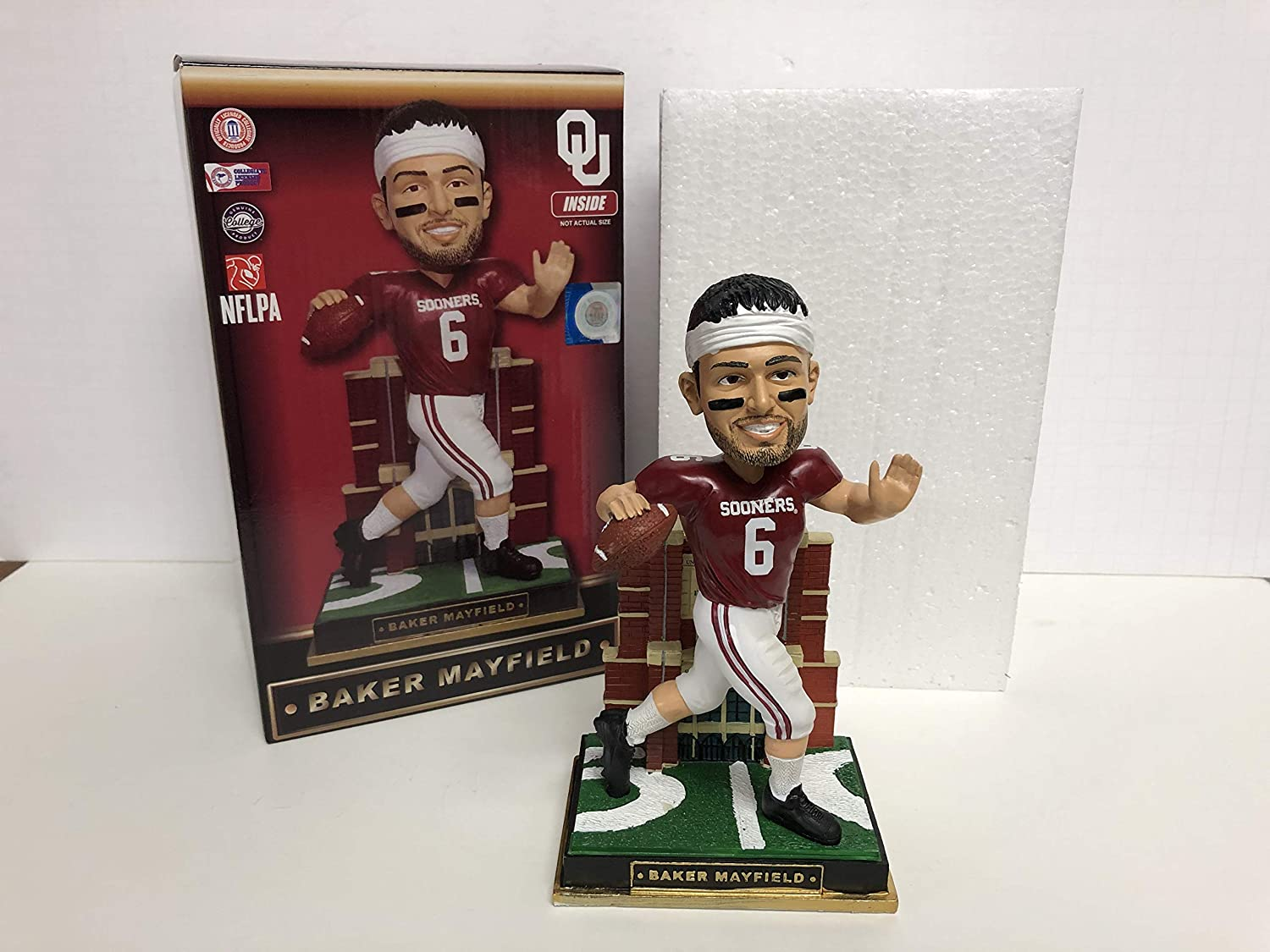 Baker Mayfield Oklahoma Sooners/current Cleveland Browns Rookie Limited Edition Bobblehead