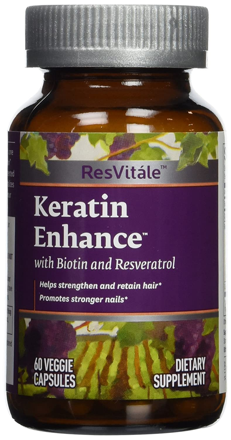 Amazon.com: ResVitle Keratin Enhance,60 count: Health & Personal Care
