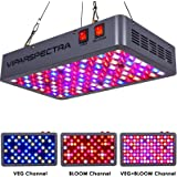 VIPARSPECTRA Latest 600W LED Grow Light, with Daisy Chain, Veg and Bloom Switches Full Spectrum Plant Growing Lights for Indoor Plants Veg and Flower