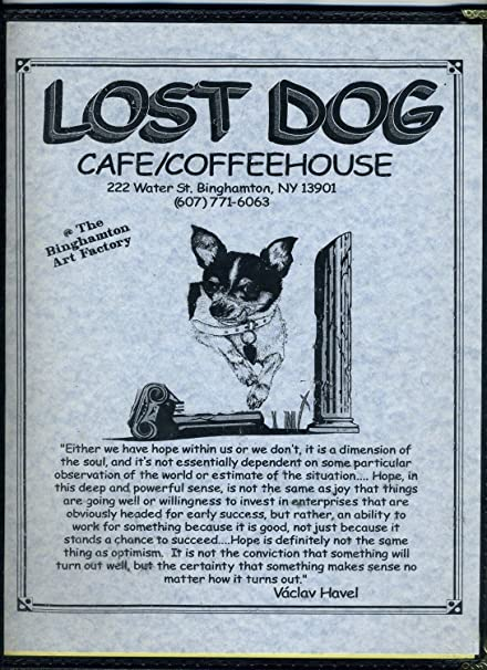 Amazon com : Lost Dog Cafe/Coffee House Restaurant Menus Binghamton