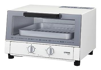 amazon タイガー オーブン トースター ホワイト やきたて kam h130 w